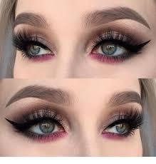 simple eyes makeup cat eye makeup