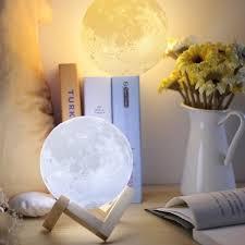Amazing 3d Print Touch Sensor Led Moon Lamp Usb Led Kids Room Night Light Moonlight Lamp Kids Gift Home Decor Light 8 10 12 14 15 18 20 Cm Wish