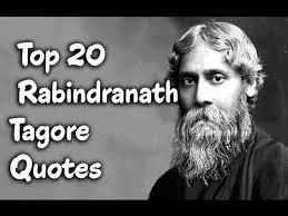 rabindranath tagore quotes in english and hindi vidyagyaan
