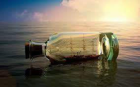 تحميل خلفيات المراكب الشراعية غروب الشمس البحر زجاجة عريضة