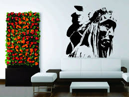 Wall Car Decor Vinyl Sticker Decal Native American Indian Nature For Sale Online