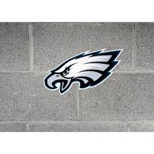 Applied Icon Nfl Philadelphia Eagles Outdoor Logo Graphic Small Nfop2501 The Home Depot