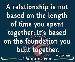 relationship isn t based on time spent together