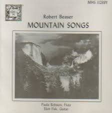 Paula Robison, Eliot Fisk - Robert Beaser: Mountain Songs (Musical Heritage  Society) - Amazon.com Music