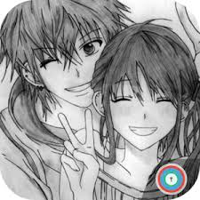 anime couple cute wallpapers for