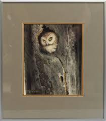 Smith Leola | Saw-What Owl | MutualArt