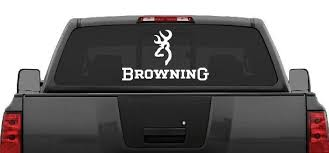 Browning Rear Window Decal Graphic Truck Car Suv Large 22 Wide Choose Color Ebay