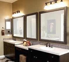 framed vanity mirrors black framed