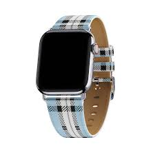 Blue Plaid Apple Watch Band – Wildflower Cases