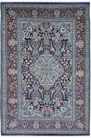 4 x 6 handknotted wool rug moor wool