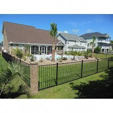 This Kind Of Photo Is Undeniably A Notable Design Construct Farmhousefence Backyard Fences Backyard Brick Fence