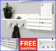 home storage 4 hooks wall mount keys