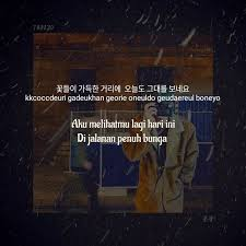 quotes of v bts song scenery hang indo