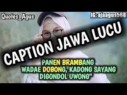 kumpulan caption quotes bahasa jawa lucu cocok story wa
