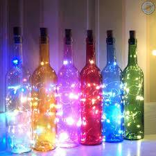 Dây Đèn Led 10 Bóng Trang Trí Chai Rượu Năng Lượng Mặt Trời