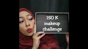 100k makeup challenge wardah saubhaya