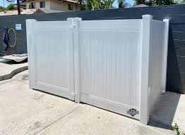 Custom Vinyl Pool Equipment Enclosure We Straight Gate Fence Inc Facebook