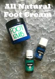 homemade foot cream recipe all natural