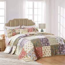 Amazon.com: Greenland Home Blooming Prairie Bedspread Set, Queen, Multi:  Home & Kitchen