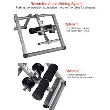 inversion table how to use benefits