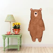 Woodland Creatures Collection Bear By Inkwood Impressions On Zibbet