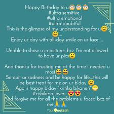 happy birthday to u🎂🎂🎂 quotes writings by mohit surya