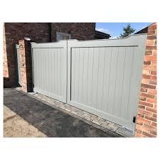 The Cotswold Aluminium Gate Entrance Gates Design House Gate Design Aluminium Gates