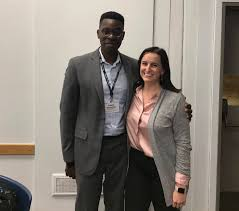 """Katie Sanders on Twitter: """"It was my lucky fortune to interview WH  reporting ace @ToluseO about building sources and finding 2020 stories  today @DrakeUniversity with @Poynter. Thanks for coming out to Des"""
