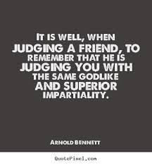 quotes about being judged quotes