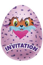 Comprar 8 Invitaciones Hatchimals Adornos Para Fiestas Y