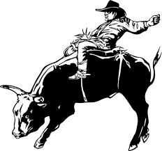 Wall Decals And Stickers Bull Riding Designwithvinyl