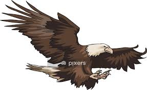 American Eagle Wall Decal Pixers We Live To Change