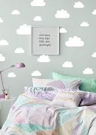 Cloud Cloud Wall Decals Cloud Decals Cloud Stickers Set Of Etsy
