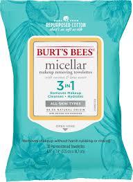 burts bees micellar makeup removing