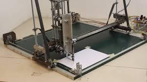homemade cnc machine with materials