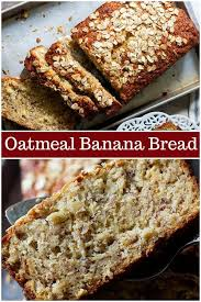 Image by Myrna Nelson on Bread in 2020 | Oatmeal banana bread ...