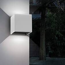 aipsun 12w outdoors led square wall