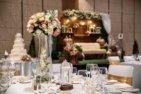 indoor wedding reception picture of