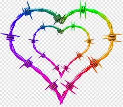 Wire Barbed Wire Fence Chicken Wire Heart Tattoo Barbed Wire Barbed Wire Border 404328 Free Icon Library