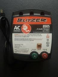 Blitzer Low Impedance Electric Fence Controller 8905 Up To 10 Miles Ac Power Blitzer Electric Fence Fence Charger Electric Fence Energizer