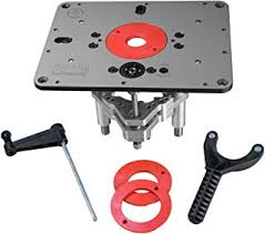 Amazon Com Router Tables Jessem Tables Router Parts Accessories Tools Home Improvement