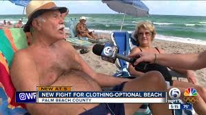 new fight for clothing optional beach