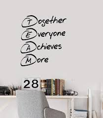 Vinyl Decal Style Wall Sticker Mural Team Building Decor For Office Un Wallstickers4you