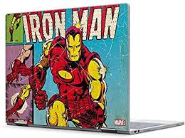 Amazon Com Skinit Decal Laptop Skin Compatible With Pixelbook Officially Licensed Marvel Disney Marvel Comics Ironman Design Electronics
