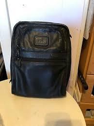 tumi alpha leather organizer travel