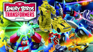 Enjoy Angry Birds Transformers in your Android Devices - Radical Hub