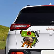 Amazon Com Cliffbennett Frog Car Decal Car Bumper Sticker Car Sticker Frog Sticker Car Decal For Man Car Accessories Funny Car Decal Car Hood Decal O114 Home Kitchen