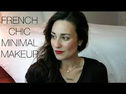french chic minimal makeup look l