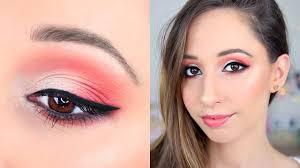 red brown eye makeup tutorial essence