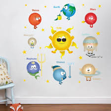Outer Space Planets Solar System Wall Stickers For Classroom Kids Room Home Decoration Pvc Nursery Mural Art Wall Decal Star Stickers For Walls Star Wall Decals From Chairdesk 5 78 Dhgate Com